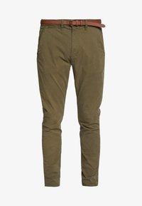 Pantalones chinos - green stone