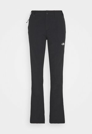WOMENS QUEST PANT - Kangashousut - black