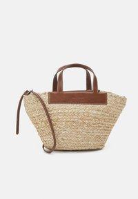 LILJA - Handbag - maroon brown