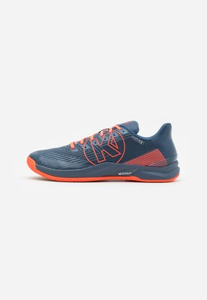 ATTACK TWO 2.0 - Handball shoes - icy grey/flou red