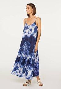 OYSHO - TIE-DYE 30751115 - Day dress - dark blue - 1