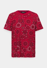 Desigual - LYON - Print T-shirt - red - 4