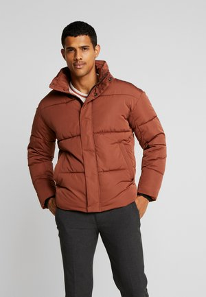 JPRMASON PUFFER JACKET - Winter jacket - cappuccino