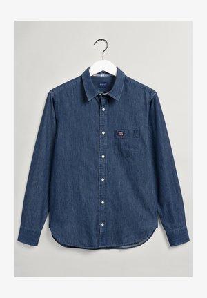 REGULAR FIT CHAMBRAY - Shirt - marine
