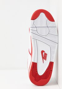 Nike Sportswear - AIR FLIGHT 89 - Korkeavartiset tennarit - white/university red - 4