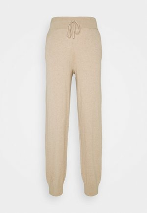 BALLOU PANTS - Trousers - safari melange