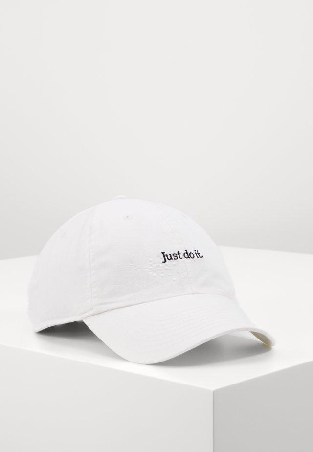 UNISEX - Casquette - white/black