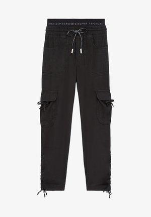 PANTALON - Cargo trousers - black