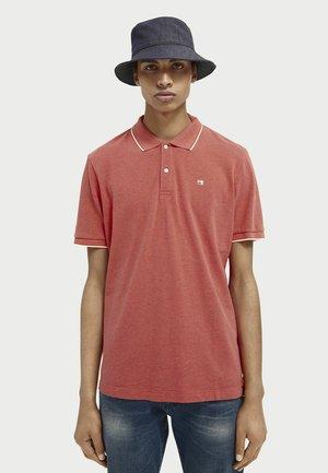 Polo shirt - signal red melange