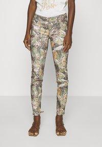 Mos Mosh - VICTORIA MAYA PANT - Trousers - oil green - 0