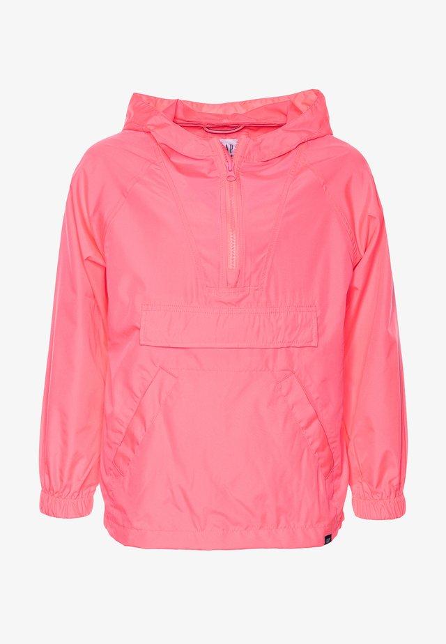 UNISEX  ANORAK - Jas - pink pop neon