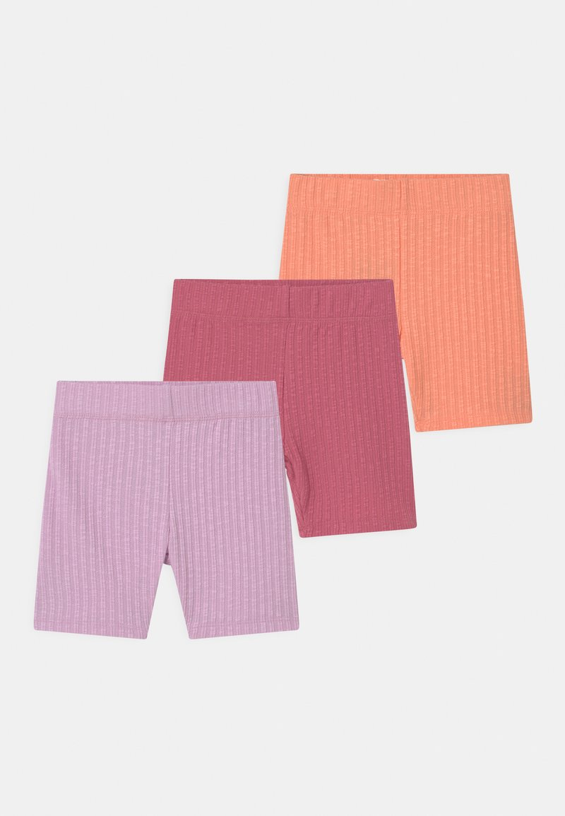 Cotton On - HAILEY BIKE 3 PACK - Shorts - musk melon/very berry/pale violet