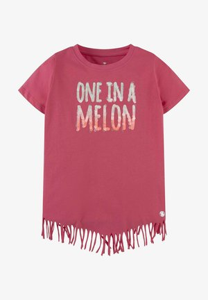MIT FRANSEN - T-shirt print - honeysuckle|pink