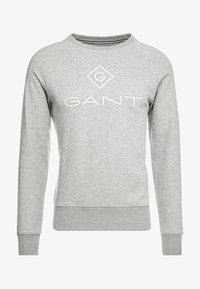LOCK UP CREW NECK - Sweatshirt - grey melange