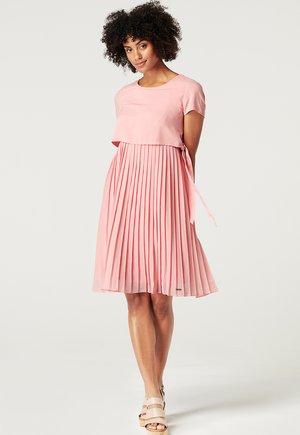 Korte jurk - rose brick