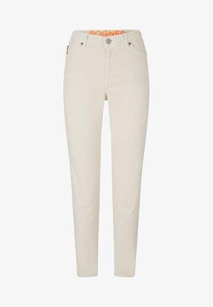 JULIE - Slim fit jeans - sand