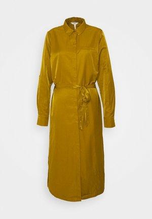 OBJEILEEN DRESS - Shirt dress - tapenade