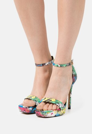 SCARLETT - Platform sandals - multicolor