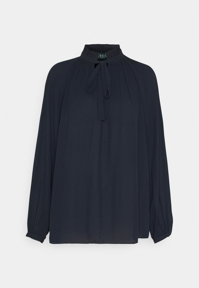 DRAPEY - Blouse - navy