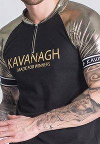Gianni Kavanagh - RIDE OR DIE - Polo shirt - black - 3