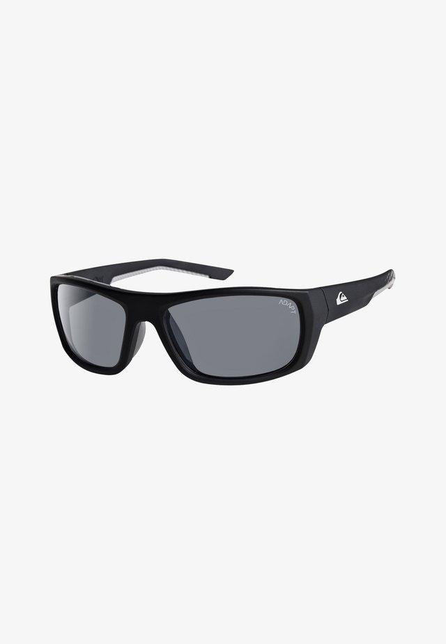 KNOCKOUT ADAPT - Zonnebril - matte black/hd photochromic gr