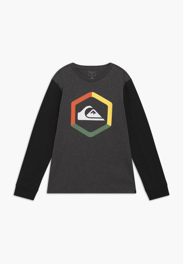 THE BOLDNESS YOUTH - Top s dlouhým rukávem - charcoal heather