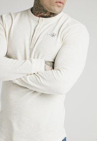 SIKSILK - Camiseta de manga larga - ecru - 2