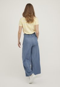 Oliver Bonas - CHAMBRAY  - Trousers - blue - 2