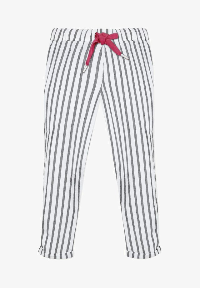 PEONY  - Trousers - white