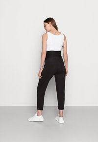 Lindex - TROUSERS MOM JASMINE - Tracksuit bottoms - black - 2
