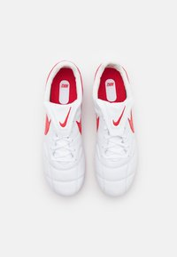 Nike Performance - PREMIER II FG - Moulded stud football boots - white/university red - 3