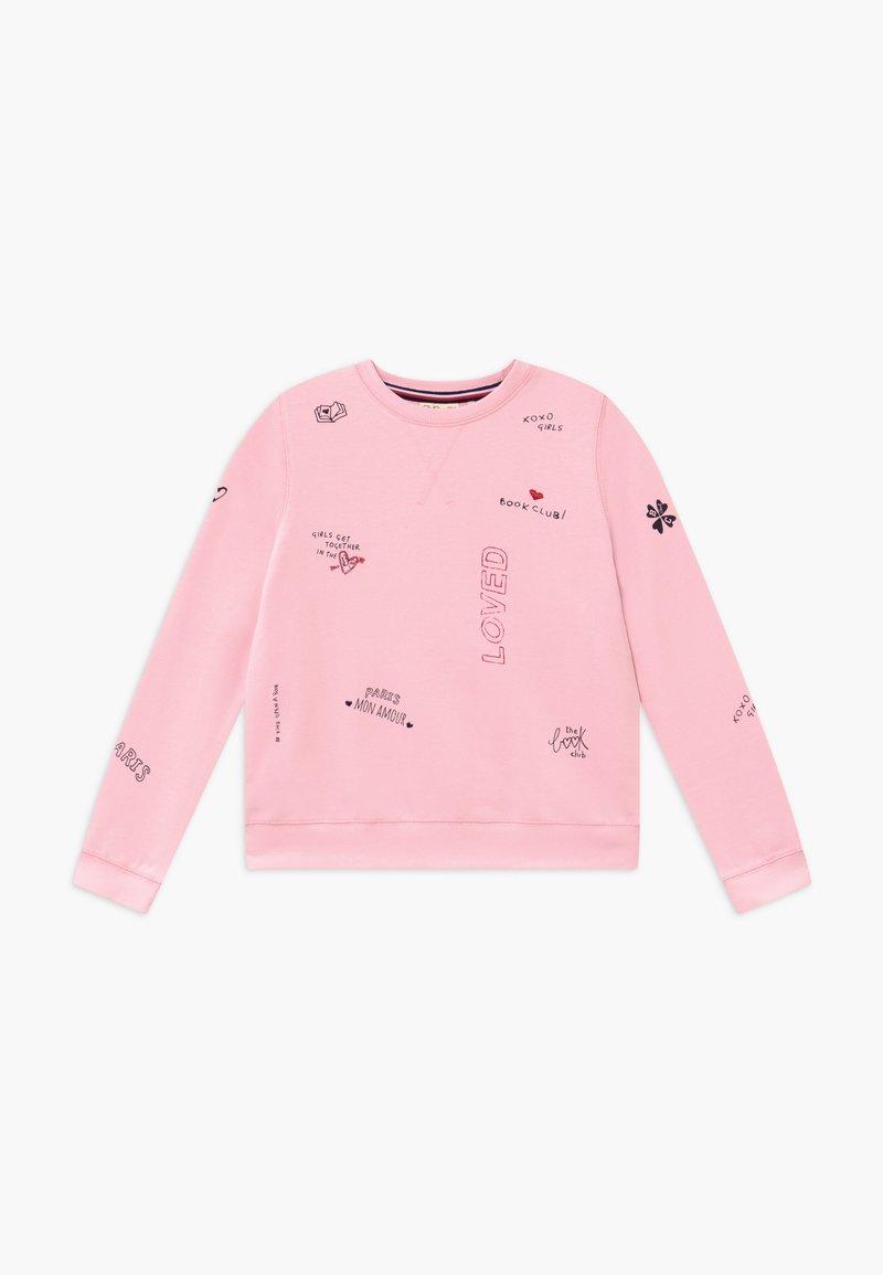 OVS - ROUND NECK - Mikina - parfait pink