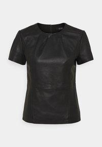 Ibana - TENLEY - Basic T-shirt - black - 0