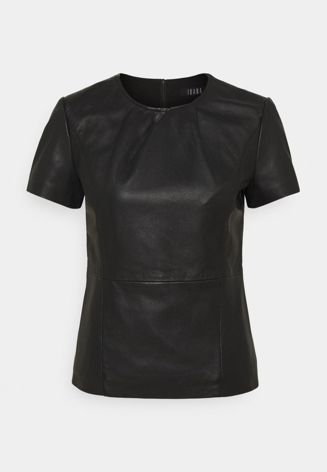 TENLEY - T-shirt basic - black