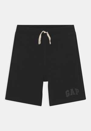 BOY LOGO  - Tracksuit bottoms - true black