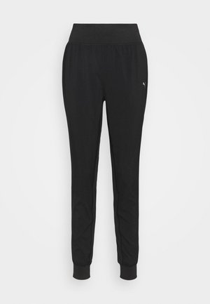 RUN FAVORITE TAPERED PANT - Tracksuit bottoms - black