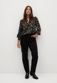 Violeta by Mango - LAURAP - Button-down blouse - schwarz - 1