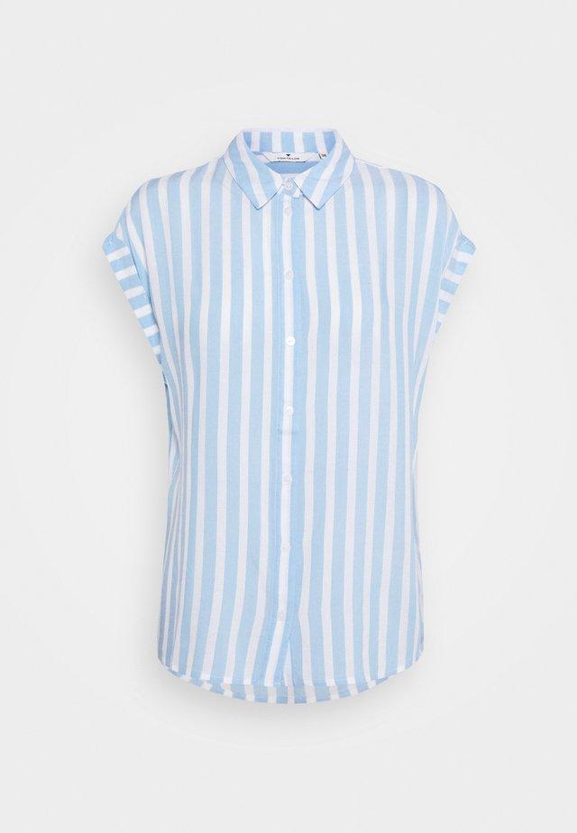 Overhemdblouse - blue/off-white