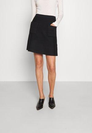 FASHION SKIRT - Áčková sukně - black