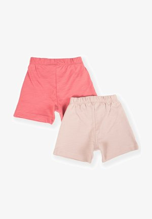 2 PACK - Shorts - coral