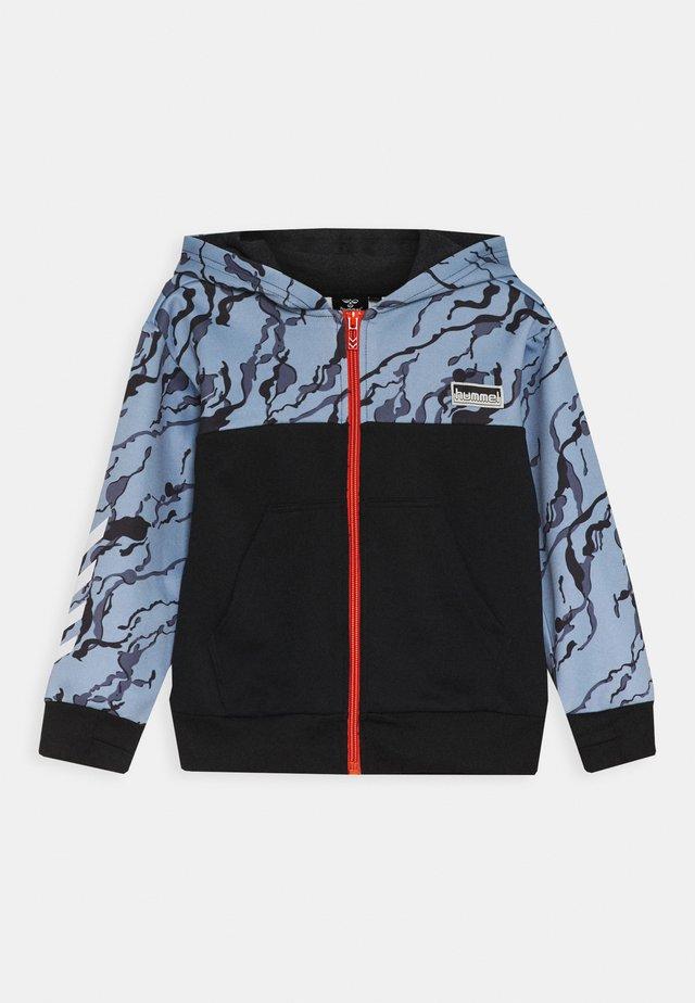 NILAR ZIP HOODIE - veste en sweat zippée - black