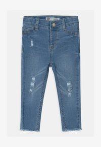 Levi's® - 710 SUPER SKINNY - Skinny džíny - blue denim - 0