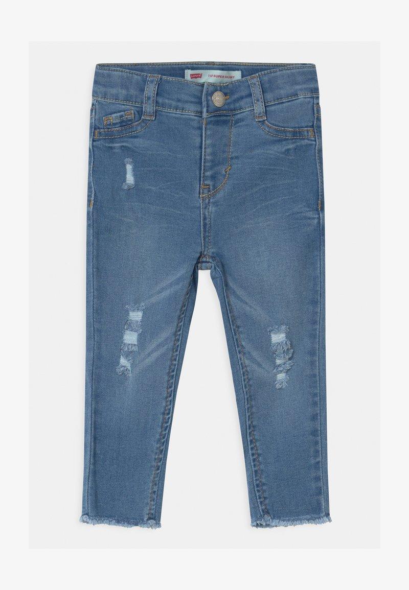 Levi's® - 710 SUPER SKINNY - Skinny džíny - blue denim