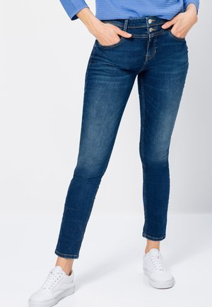 Relaxed fit jeans - deep royal blue authentic wash