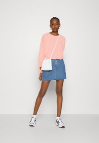 ONLY - ONLZILLE ONECK - Long sleeved top - misty rose - 1