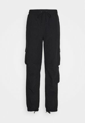 ADMIRAL UNISEX - Cargo trousers - black
