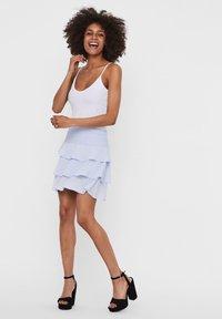 Vero Moda - A-line skirt - xenon blue - 3