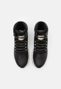 Sorel - HILL MID WP - Zapatillas altas - black - 3