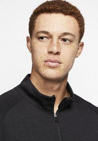 Nike Golf - DRY PLAYER HALF ZIP - Mikina - black - 3