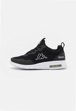 CANBERRA UNISEX - Sports shoes - black/white